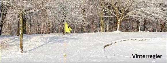 Banen nu er gjort vinterklar og der spilles efter vinterregler. Det betyder, at der fra den 4/11-2016 og frem til 1/4-2017 kan spilles til 125 i hverdage og 150 i weekend. Der gives ikke yderligere rabat på greenfee i den periode.
